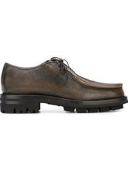 Dsquared2 Lace Up Loafers Grey