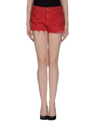 Denim And Supply Ralph Lauren Denim Shorts Red