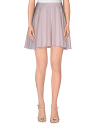 Chalayan Skirts Mini Skirts Women Light Pink