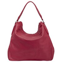 Liebeskind Yokohama Double Leather Hobo Bag Cherry Blossom Red