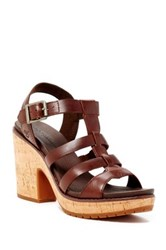 Timberland Roslyn Fisherman Wedge Sandal Brown