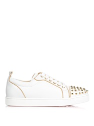 Christian Louboutin Rush Studded Low Top Leather Trainers
