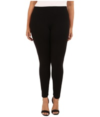 Hue Plus Ultra Leggings W Wide Waistband Black Women's Clothing