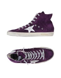 Golden Goose Footwear High Tops And Trainers Men Mauve