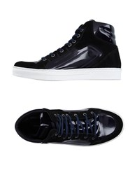 Alessandro Dell'acqua Footwear High Tops And Trainers Men Dark Blue