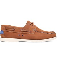 Kg By Kurt Geiger Sorrento Leather Boat Shoes Tan