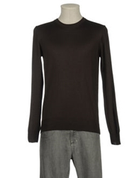 Valdoglio Crewneck Sweaters Dark Brown