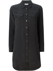 Equipment Oversized Shirt Black