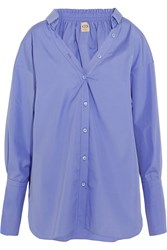 Tod's Oversized Cotton Poplin Shirt