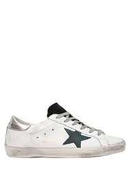 Golden Goose 20Mm Superstar Leather And Suede Sneakers