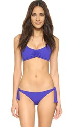 L Space Lively Bikini Top Pool