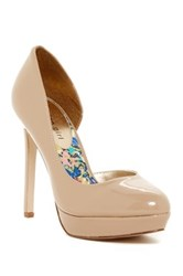 Madden Girl Unite Stiletto Pump White