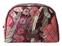 Vera Bradley Medium Zip Cosmetic Bohemian Blooms Cosmetic Case Multi