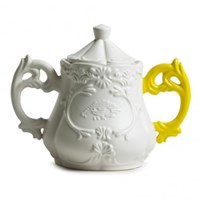 Seletti I Wares Porcelain Sugar Bowl