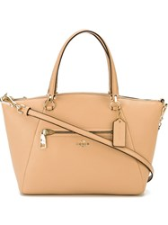 Coach 'Prairie' Tote Nude And Neutrals
