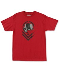 Metal Mulisha Men's Graphic Print T Shirt Cardinal