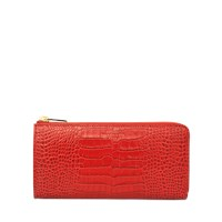 Smythson Mara Large Zip Wallet