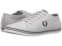 Fred Perry Kingston Twill Dolphin Black Men's Lace Up Casual Shoes White