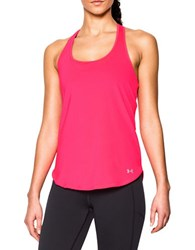 Under Armour Fly By 2.0 Cutout Racerback Tank Top Bright Pink