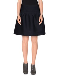 Valentino Skirts Mini Skirts Women Dark Blue