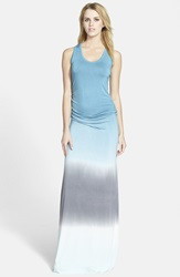 Young Fabulous Broke 'Hamptons' Ombre Maxi Dress Teal Sky Ombre