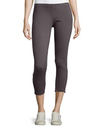 Neon Buddha Ocean Ruched Leggings Sustainable Charcoal
