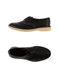 Adieu Lace Up Shoes Black