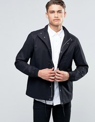 Esprit Lightweight Jacket With Drawstring Hem Black