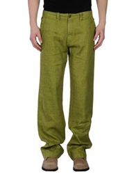 40Weft Casual Pants Military Green