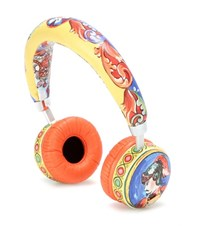 Dolce And Gabbana Printed Leather Bluetooth Headphones Multicoloured