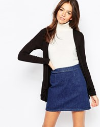 New Look Boyfriend Cardigan Black