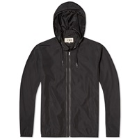 Ymc Perforated Double Zip Jacket End. Exclusive Black