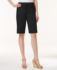 Charter Club Bermuda Shorts Only At Macy's Deep Black