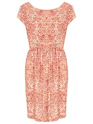 Nougat London Shoreditch Printed Dress Orange
