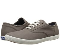 Keds Champion Army Twill Cvo Walnut Men's Lace Up Casual Shoes Brown