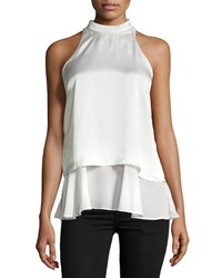 Philosophy Double Layer Halter Tank Ice Reflection