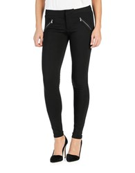 Paige Ankle Length Ultra Skinny Jeans Black