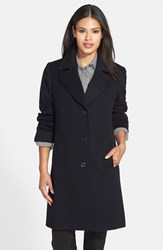 Fleurette Women's Notch Collar Wool Walking Coat