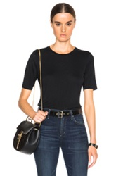 Stockholm Cashmere Blend Tee In Black