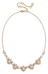 Marchesa Women's Crystal And Faux Pearl Necklace