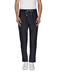 H Sio Trousers Casual Trousers Men Dark Blue