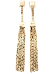 Dsquared2 Fringed Earrings