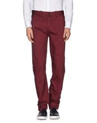 Timberland Trousers Casual Trousers Men Maroon