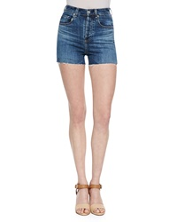 Alexa Chung For Ag The Fifi High Waist Shorts