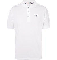 Boast Pique Tennis Polo Shirt White