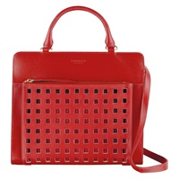 Radley Clerkenwell Medium Multiway Leather Bag Red