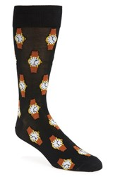 Hot Sox Men's 'Wristwatch' Socks