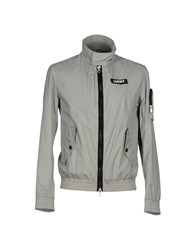 313 Tre Uno Tre Coats And Jackets Jackets Men Light Grey