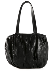 Ivan Grundahl Pleated Tote Black