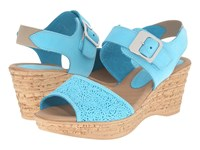 Spring Step Mitu Turquoise Women's Shoes Blue